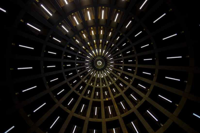 abstract art blur circle
